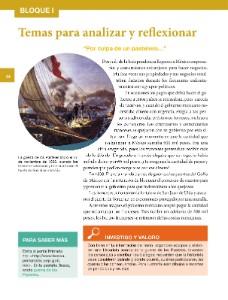 Quinto - Historia14 - Bloque 1 - Temas para analizar y