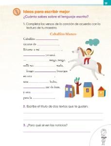 Organizamos las actividades - Ayuda para tu tarea de Lengua Materna ...