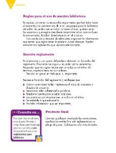 Ayuda para tu tarea de Tercero Español Bloque I Elaborar