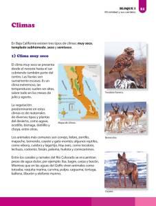 Los Componentes Naturales De Mi Entidad Ayuda Para Tu Tarea De Baja California La Entidad Donde Vivo Sep Primaria Tercero Respuestas Y Explicaciones